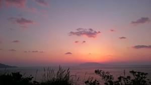 #屋久島 #東シナ海展望台 #夕焼け