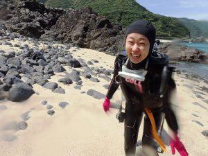 屋久島体験ダイビング